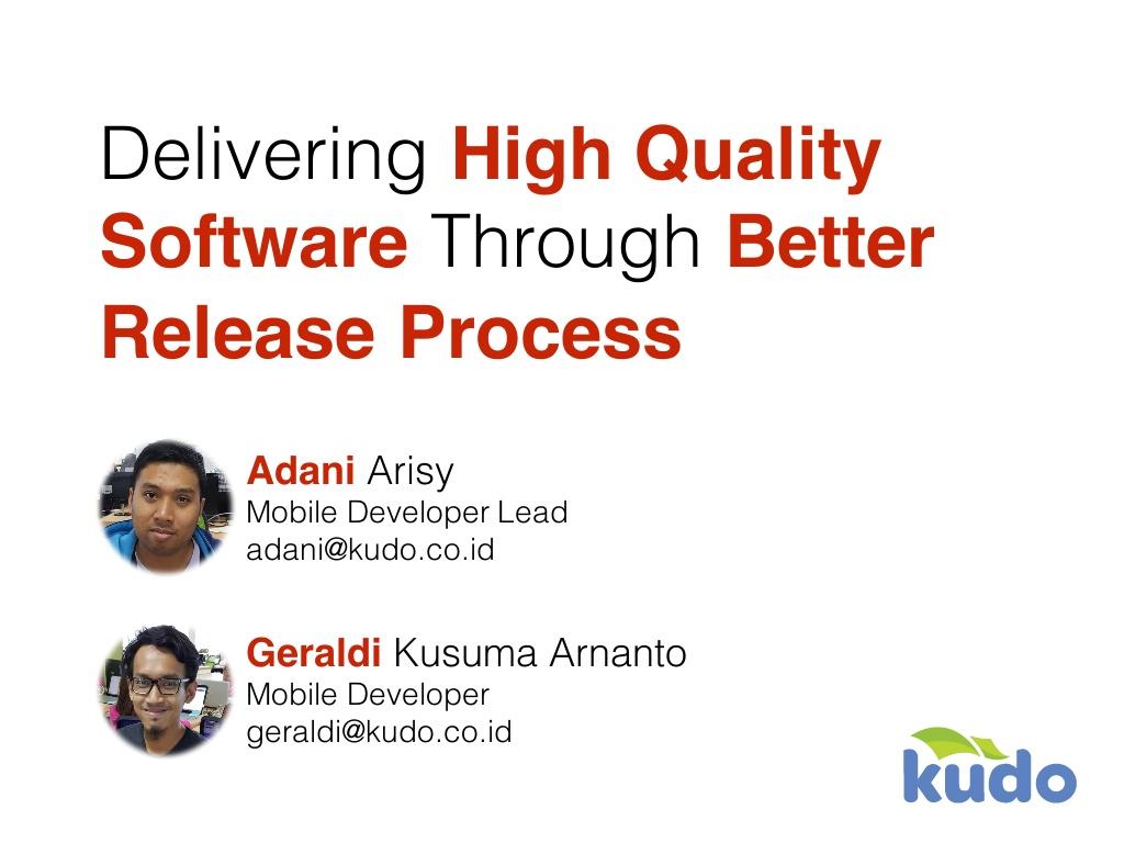Android: Merilis aplikasi berkualitas dengan metode Agile Development
