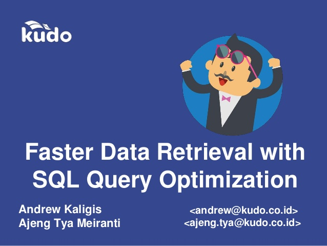 CMS: Faster data retrival with SQL query optimization