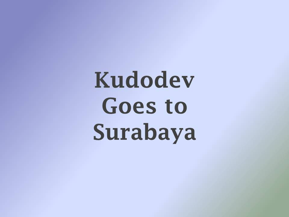 Tech Talk Kudo dengan Arek Suroboyo..