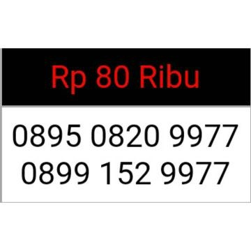 Telkomsel Kartu As Nomor Cantik 0852 8888 0820 Daftar Update Source · Kartu Perdana THREE 3