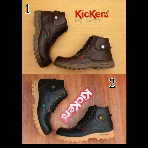 sepatu boot pria KICKERS KY21 safety