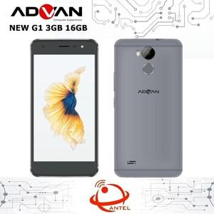 Advan G1 4G LTE 3/16GB Garansi Resmi Grey