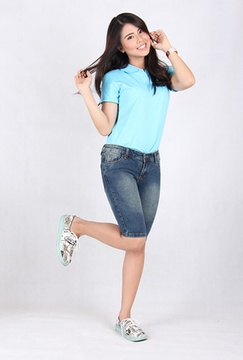 Celana Pendek Wanita Jeans (7710)