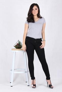 Celana Pensil Wanita Jeans 3107B