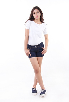Hot Pants Jeans (6037B)