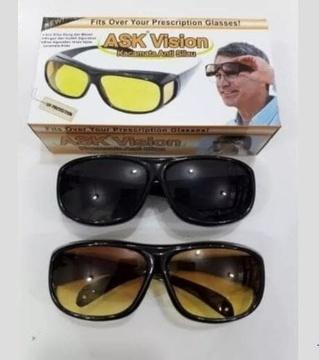 Kacamata HD Vision Anti Silau 2 in 1