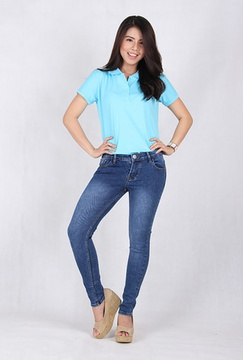 Skinny Jeans Wanita (9131B)