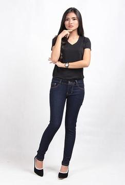 Skinny Jeans Wanita Big Size (9101)
