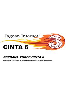 Perdana Tri CINTA 6 (paket isi 10)