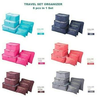 Traveling Organizer Bag In Bag 6In1