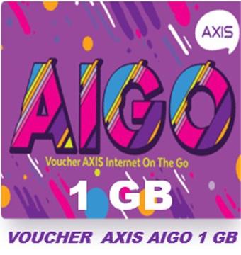 Voucher AIGO 1 GB (isi 10)