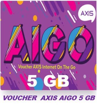 Voucher AIGO 5 GB (isi 10)