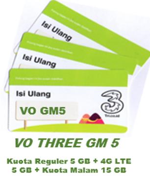 Voucher GM5 (isi 10)