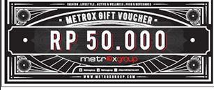 Voucher Metrox (@50.000-2 lembar)