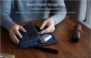 Xiaomi Digital Storage Gadget Organizer Clutch Biru
