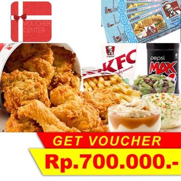 Voucher KFC 700.000