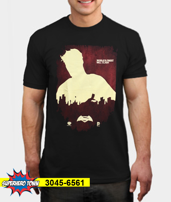 T-Shirt / Kaos Pria (Super Hero Superman Batman) 3045-6561