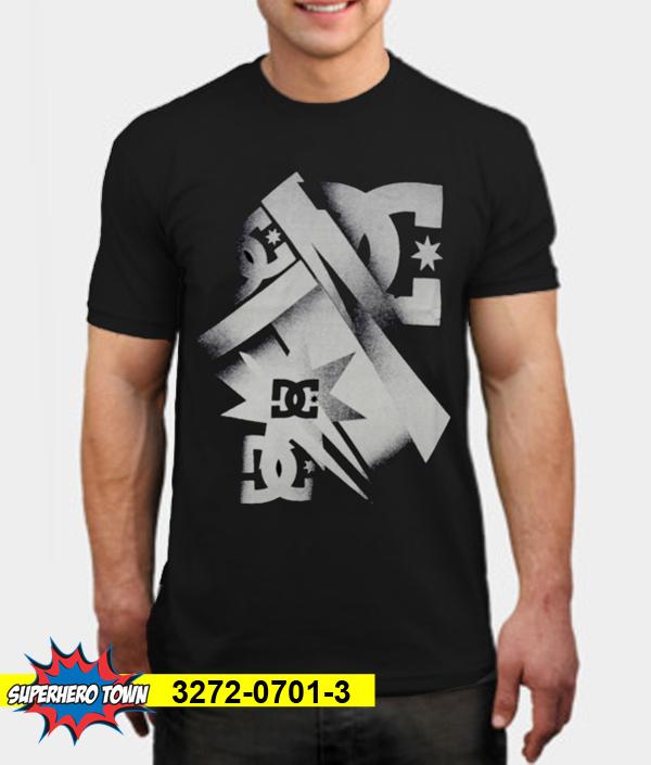 T-Shirt / Kaos Pria (DC Abstrak) 3272-0701-3