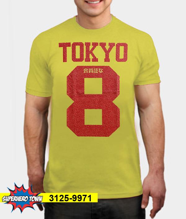T-Shirt / Kaos Pria (Tokyo 8) 3125-9971