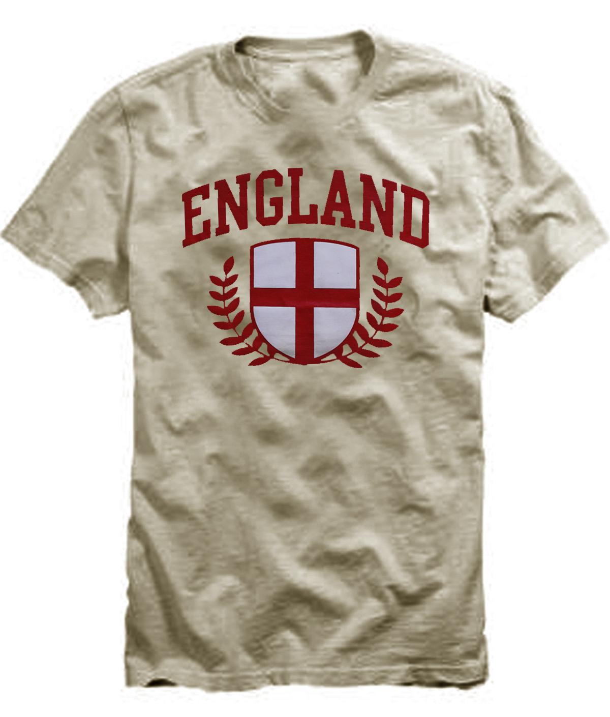 T-Shirt / Kaos Pria (England) 3916-8871