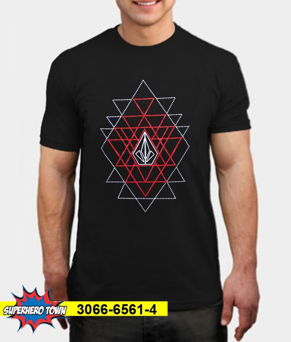 T-Shirt / Kaos Pria (Volcom Red) 3066-6561-4