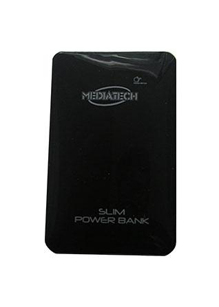 Mediatech Slim Power Bank - 10000 mAh - MPW-008