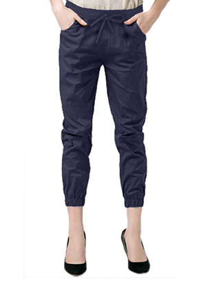 celana jogger katun stretch plus size