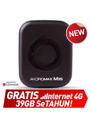 Mifi Andromax M3S - Gratis Internet Setahun (Total 39GB)