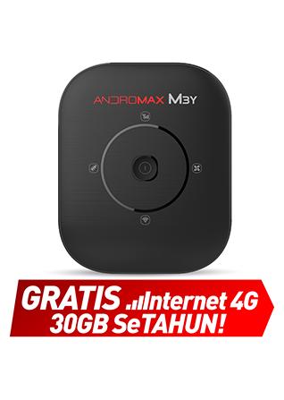 Mifi Andromax M3Y - Gratis Internet Setahun (Total 39GB)